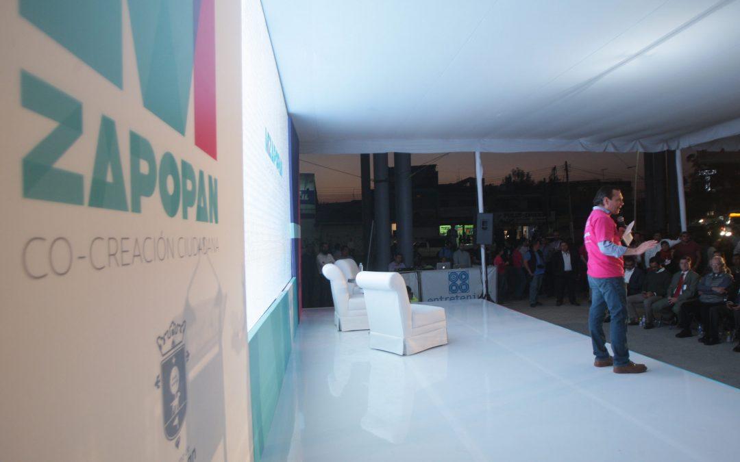 Presentan la plataforma MIZapopan; los ciudadanos son fundamentales para la transformación del municipio