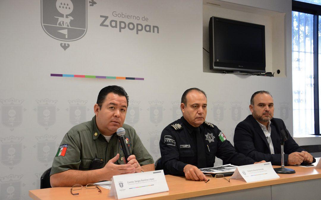 Zapopan presenta avances del Operativo Interinstitucional de Pirotecnia 2016 y anuncia el Operativo Decembrino 2016