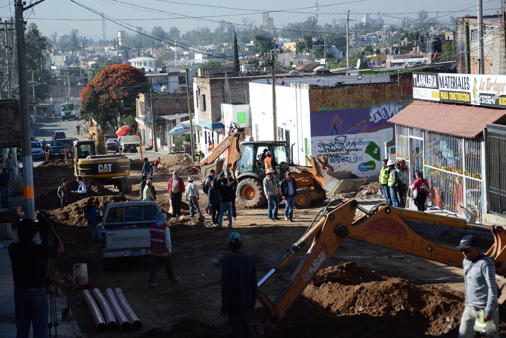 Zapopan brinda infraestructura social de calidad en las colonias Emiliano Zapata y Parques del Auditorio