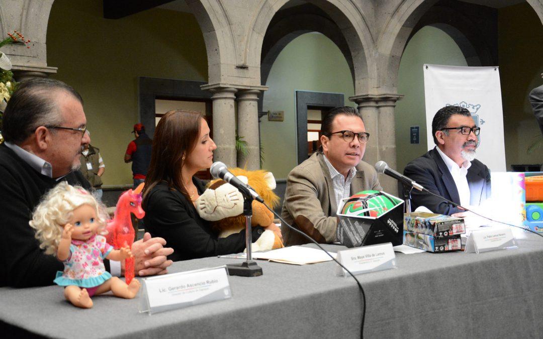 """Zapopan inicia campaña de donación de juguetes """"Dibujemos Sonrisas"""""""