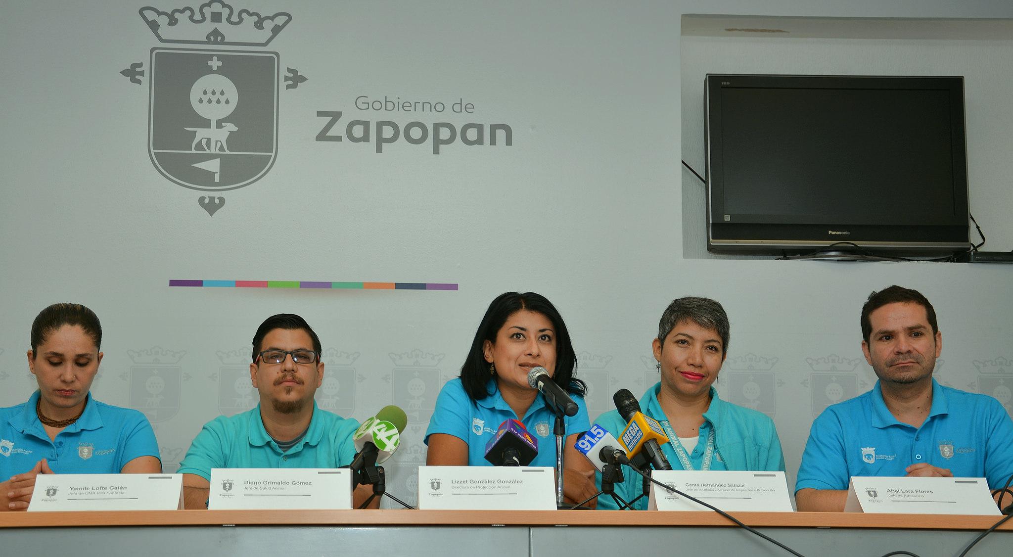Protección Animal de Zapopan supera expectativas de atención y servicio en el municipio durante 2016