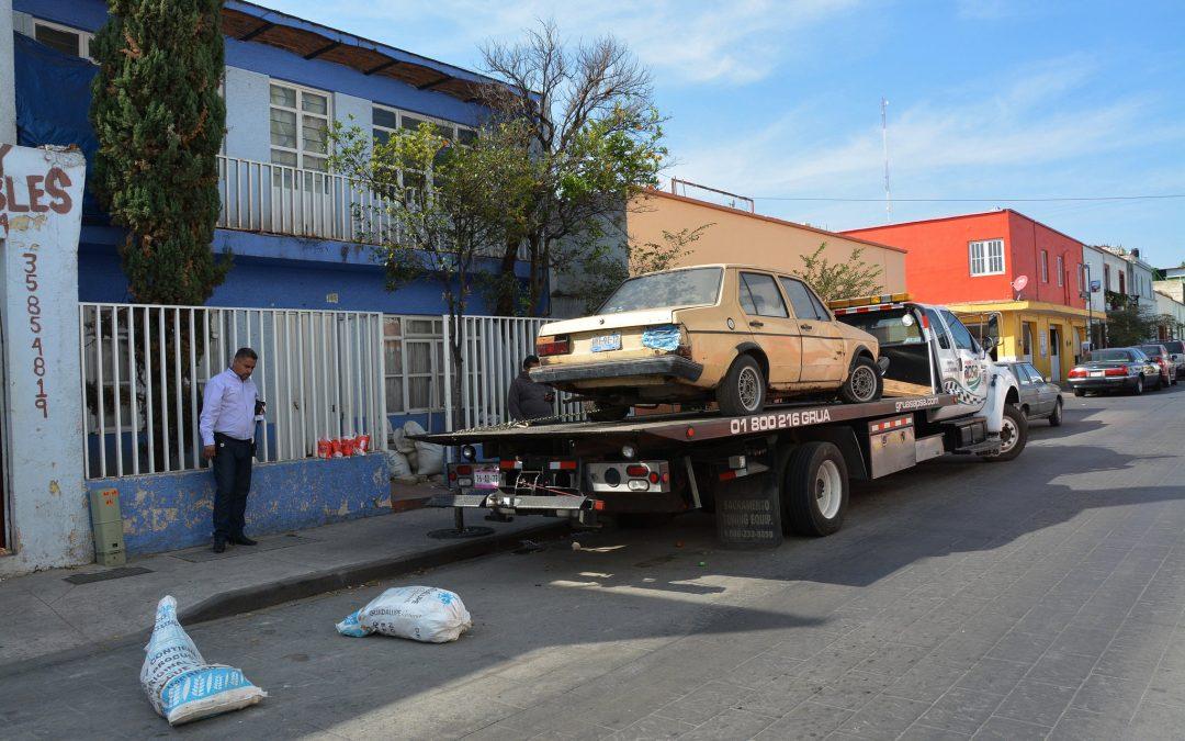 Arranca en Zapopan operativo para el retiro de vehículos abandonados