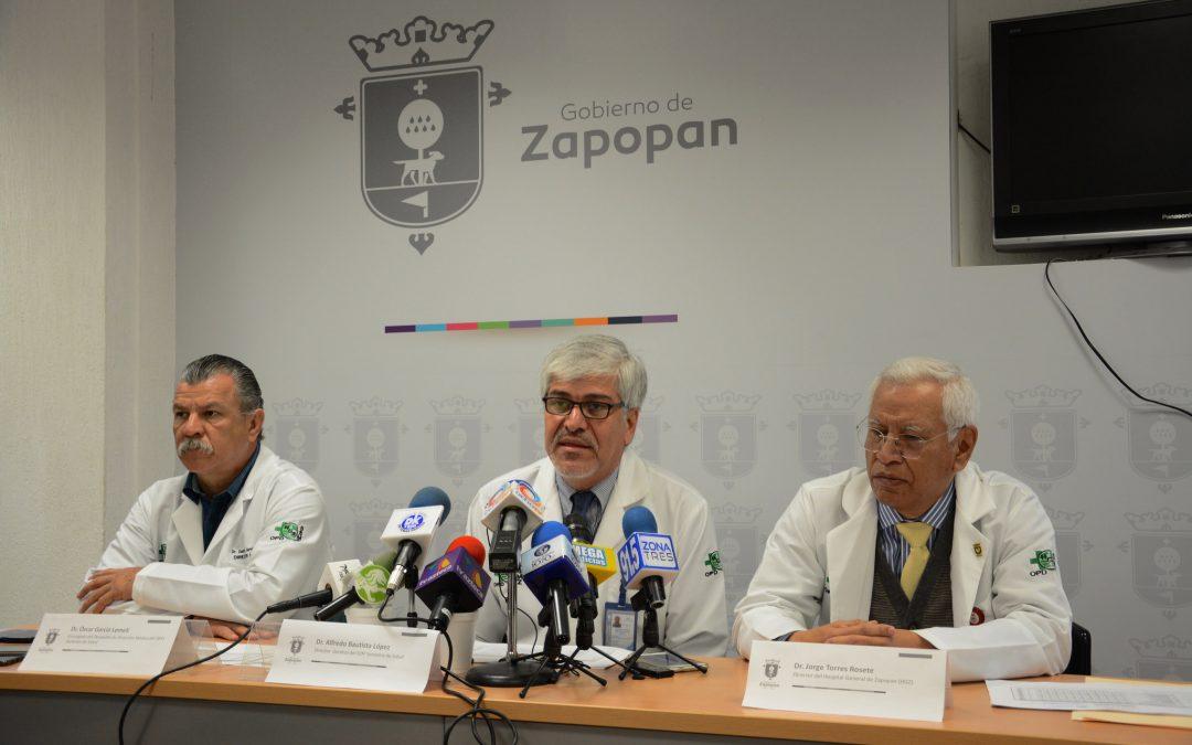 El Hospital General de Zapopan presenta avances en capacitación y equipamiento