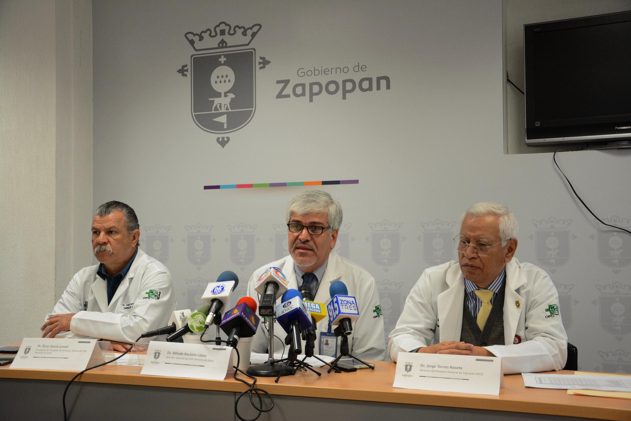 El Hospital General de Zapopan presenta avances en capacitación y equipamiento, en el marco del 70°aniversario del OPD Servicios de Salud