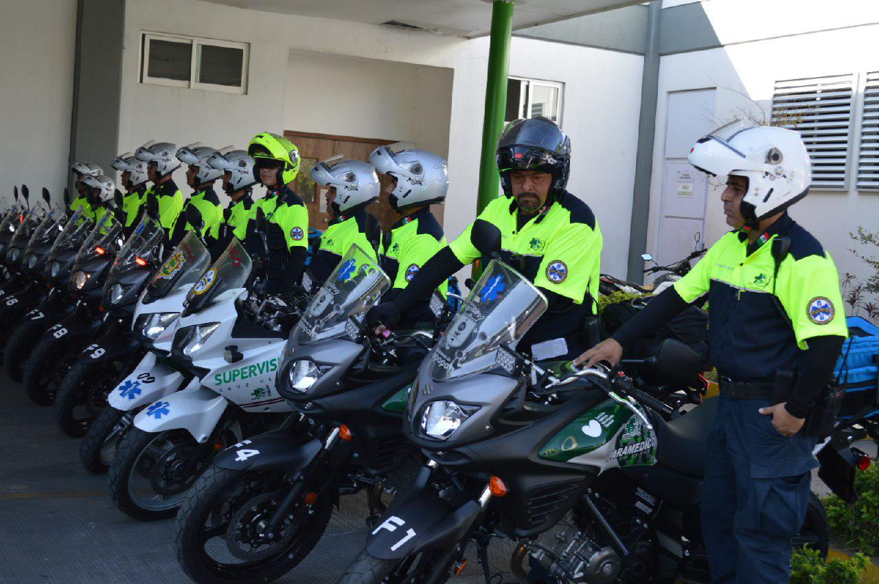 Fortalece Zapopan Servicios de Salud con unidades nuevas del Escuadrón Motorizado Fénix