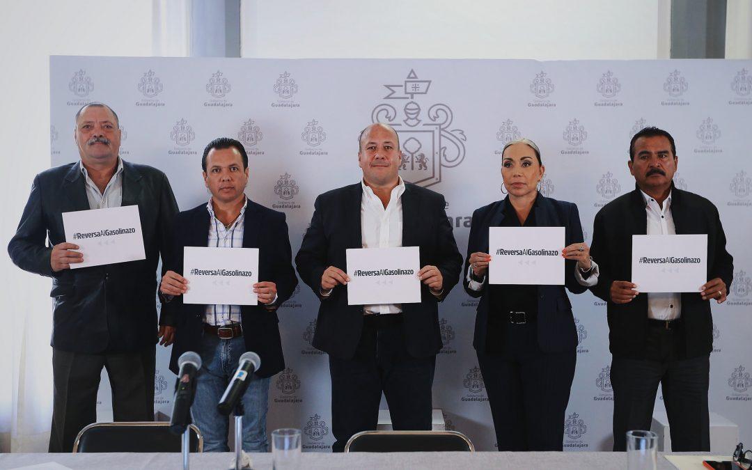 Presidentes Municipales del Área Metropolitana, emanados de MC, dan a conocer acciones contra el Gasolinazo