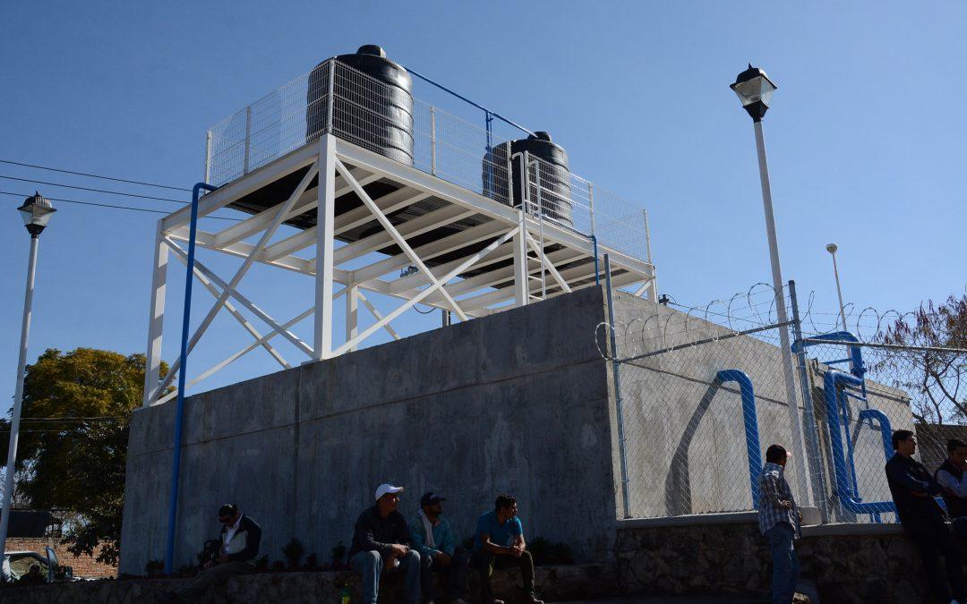 Inauguran pozo de agua en el poblado San Rafael