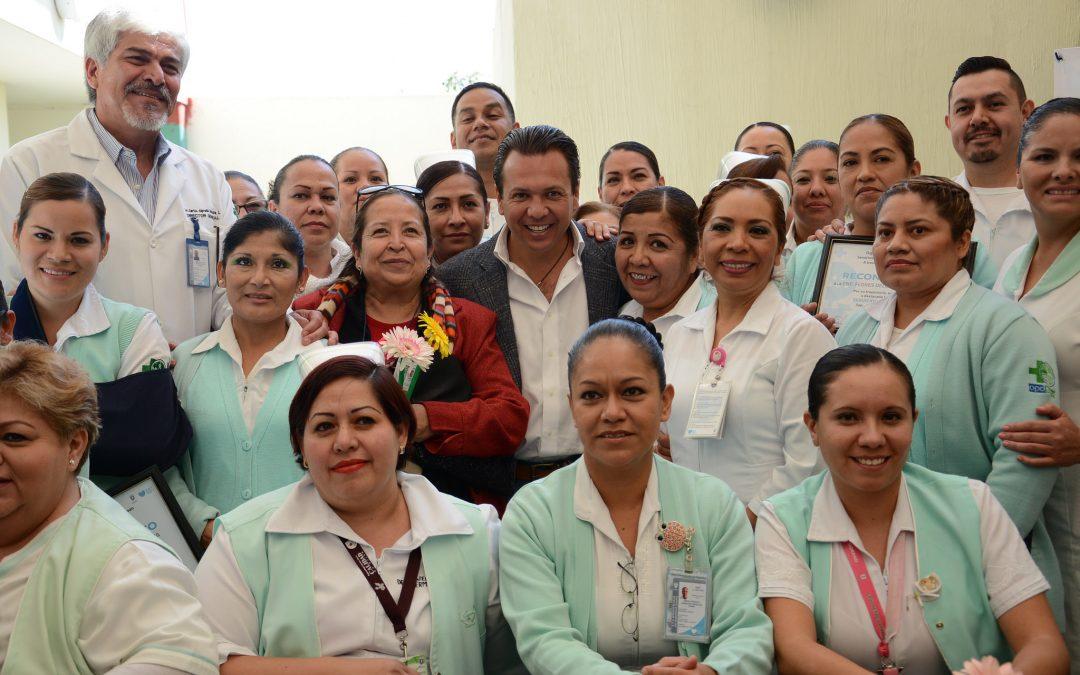 Zapopan reconoce la labor de calidad y calidez humana de las enfermeras y enfermeros de los Servicios de Salud