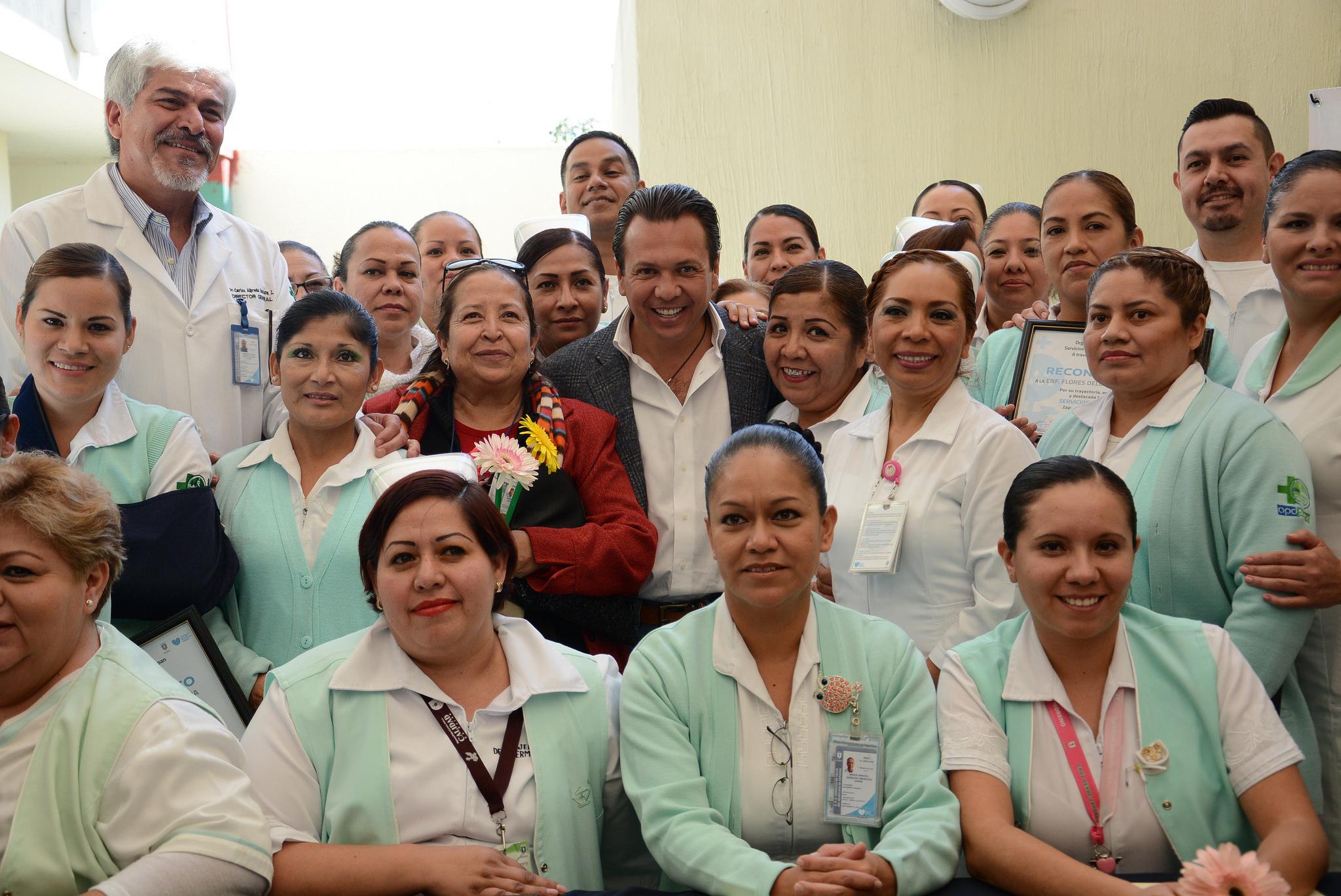 El Gobierno de Zapopan reconoce la labor de calidad y calidez humana de las enfermeras y enfermeros de los Servicios de Salud