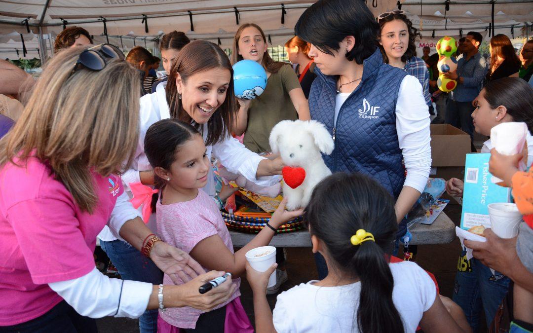 En el Día de Reyes, DIF Zapopan entrega más de 9 mil juguetes a niños y niñas
