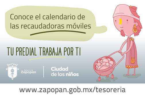 Calendario de las Recaudadoras Móviles