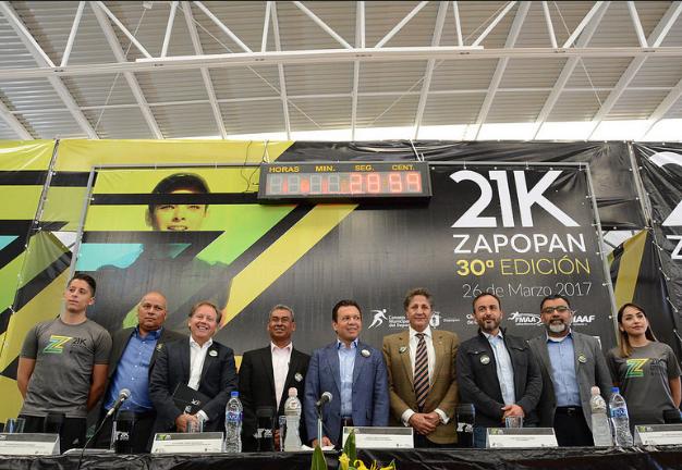 Anuncio de la edición 30 del Medio Maratón de Zapopan