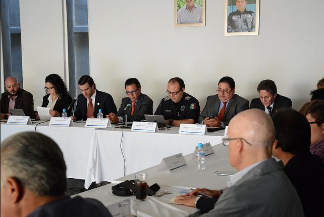 Participa Pablo Lemus en sesión del Consejo Ciudadano de Seguridad Pública de Zapopan