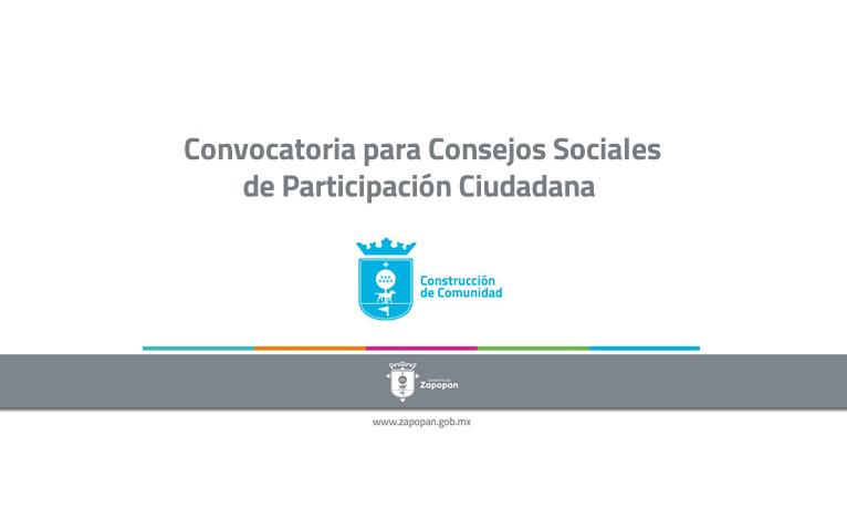 El Gobierno Municipal lanza convocatoria para que los ciudadanos sean voz de sus colonias en los Consejos Sociales