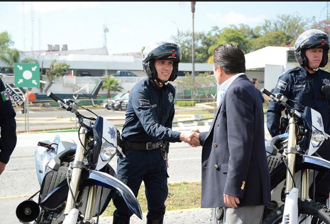 Entrega de motos y bicis a la Policía de Zapopan