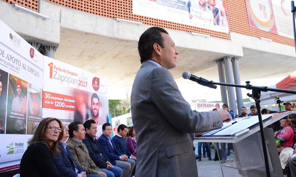 Zapopan amplía y mejora la oferta laboral en el municipio