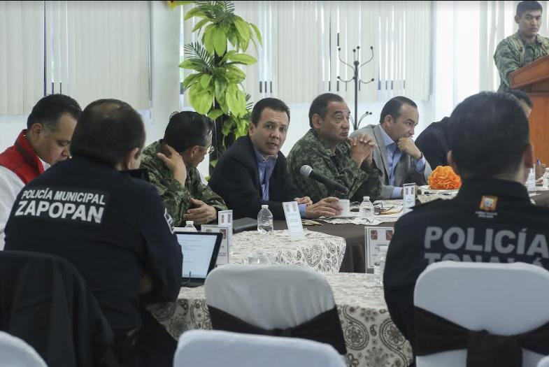 Reunión de seguridad de la ZMG