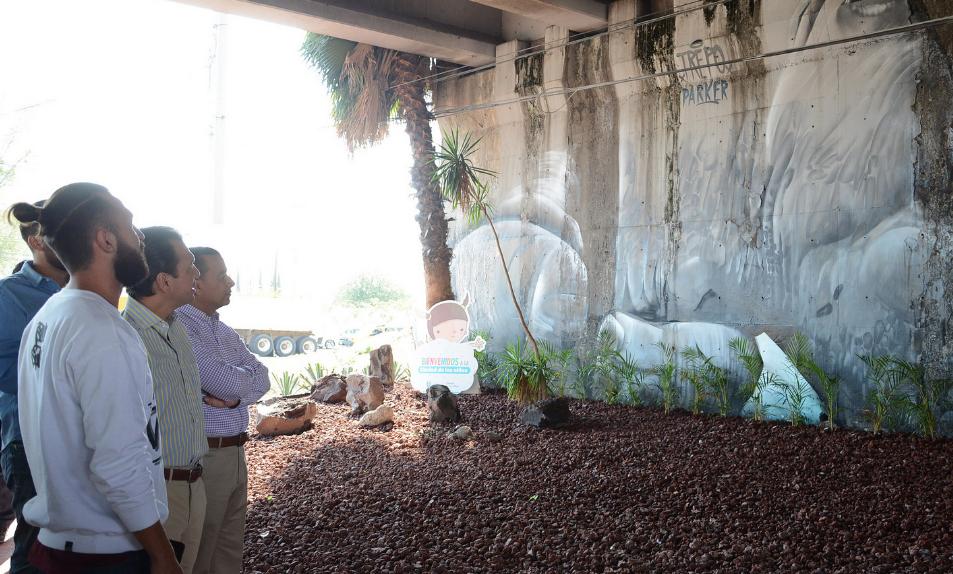 Bajo puente de Guadalupe y Periférico