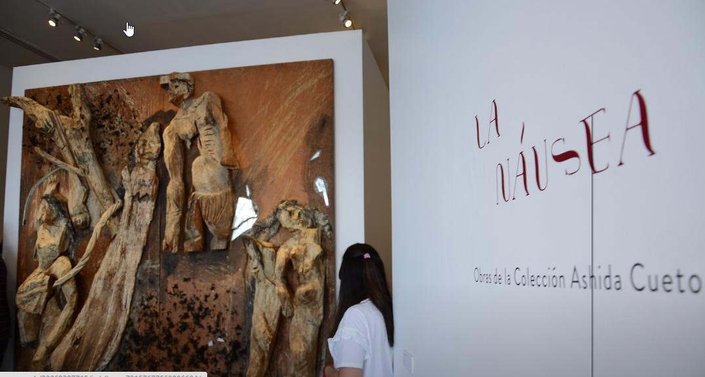 """Inauguran muestra artística """"La náusea"""" en el Museo de Arte de Zapopan"""
