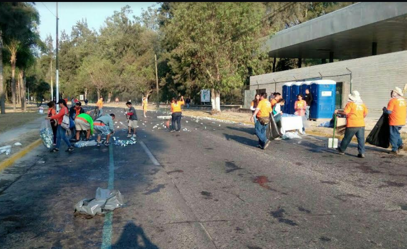 """Realiza Zapopan labor de saneamiento en vialidades del XXX Medio Maratón """"Benito Juárez"""""""