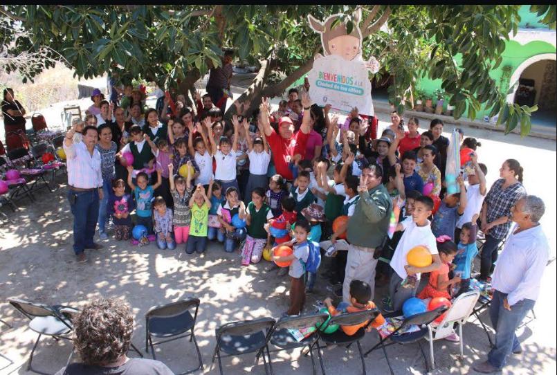Reciben niñas y niños de la Delegación Coronilla del Ocote capacitación en primeros auxilios