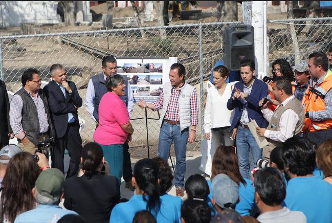 Obras de rehabilitación en el Centro de Tesistán