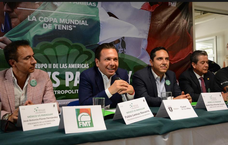 Zapopan, Ciudad de los Niños, será sede del torneo internacional de tenis Copa Davis 2017