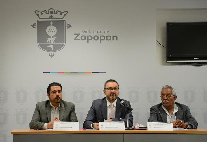 Rueda de prensa para dar a conocer la 3ra Feria Metropolitana del Empleo