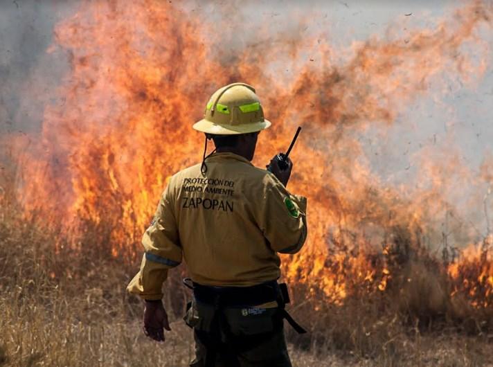 Brigadas contra incendios forestales