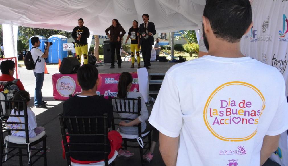 Zapopan celebra Día de las Buenas Acciones con actividades recreativas