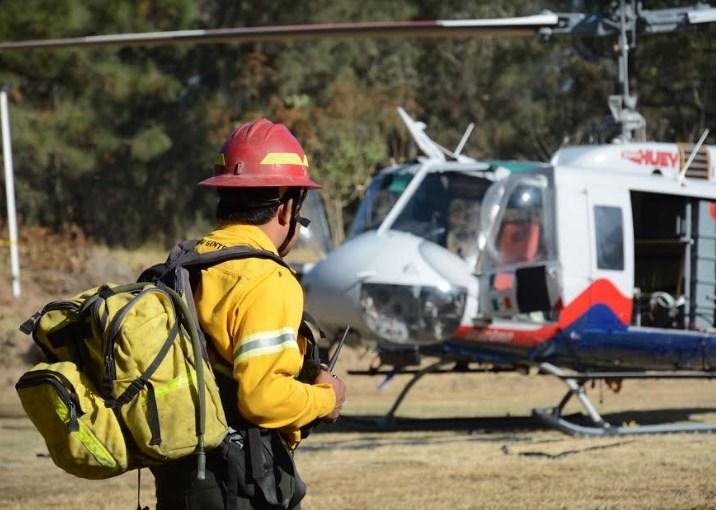 Tláloc combate 19 incendios forestales en el Municipio de Zapopan