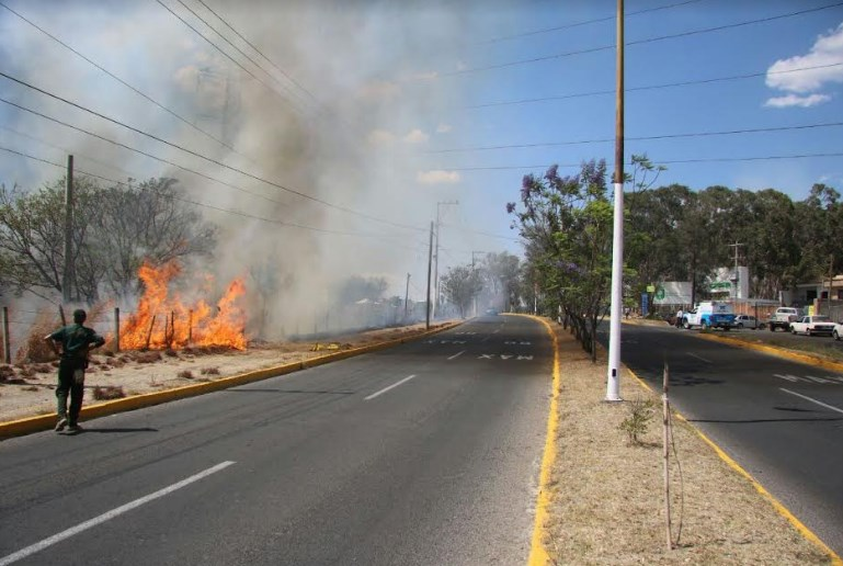 Incendio en El Fortín