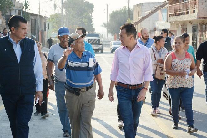 Zapopan entrega infraestructura vial de calidad en la colonia Balcones de la Cantera