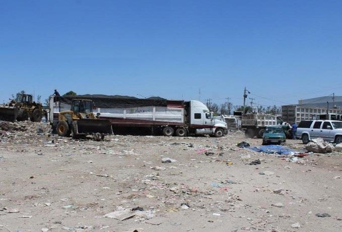 Termina saneamiento de alrededores de la planta de transferencia en El Vigía