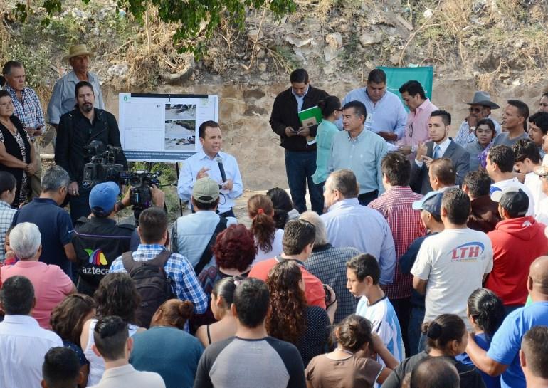 Inicia Zapopan construcción de puente vehicular en El Briseño, para seguridad de ciudadanos