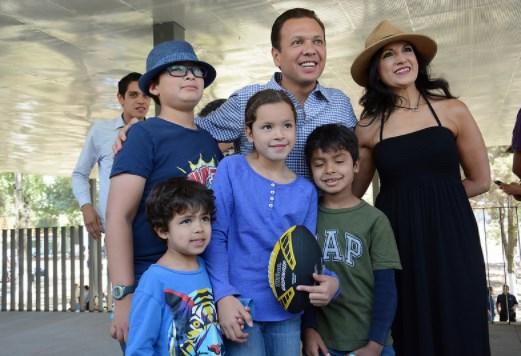 Presenta Zapopan, la Ciudad de los niños, la Unidad Deportiva «El Polvorín»
