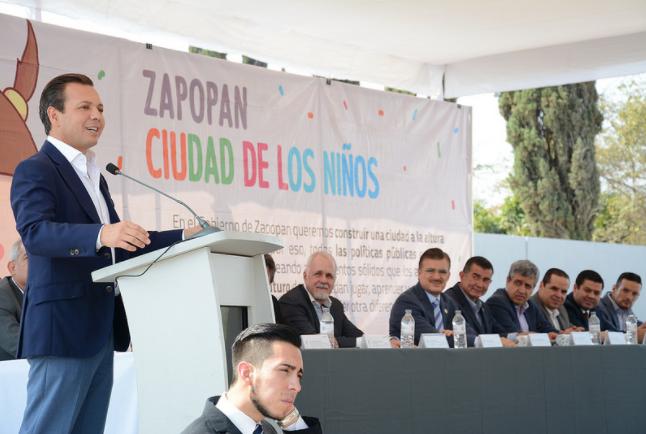 Zapopan, Ciudad de los Niños, realiza ampliación y pavimentación de la Avenida Prolongación Laureles