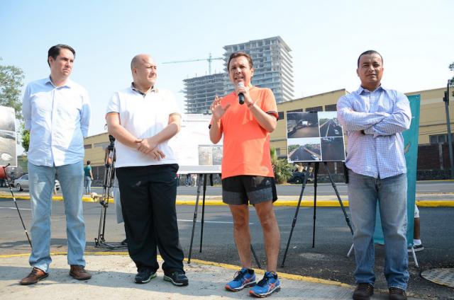 Zapopan y Guadalajara realizan renovación de la Avenida Ignacio L. Vallarta