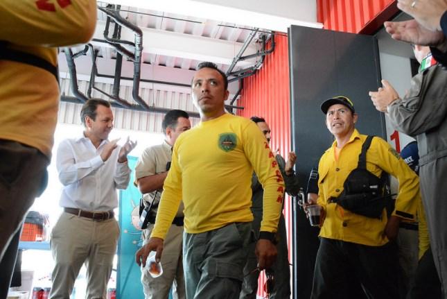Reconoce Zapopan labor de brigadistas forestales que combatieron incendio en Bosque La Primavera