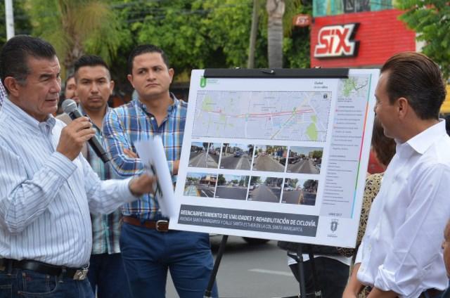 Zapopan entrega obras viales en las avenidas Santa Margarita y Santa Esther para dignificar el tránsito de los ciudadanos