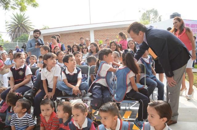 """Zapopan, Ciudad de los Niños, entrega la renovación del Centro de Desarrollo Infantil (CDI) número 4 """"Melvin Jones"""""""