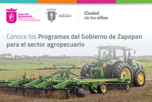 Conoce los programas del Gobierno de Zapopan para el sector agropecuario