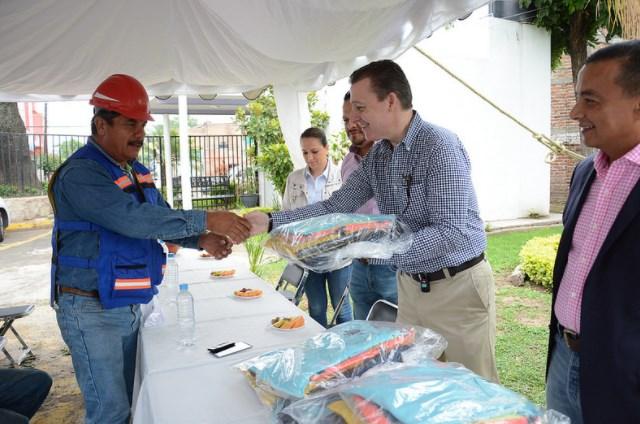 Fortalece Zapopan con equipamiento a personal de Parques y Jardines