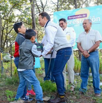 Arranca Zapopan edición 2017 del Programa Municipal de Reforestación en la ANP Bosque La Primavera