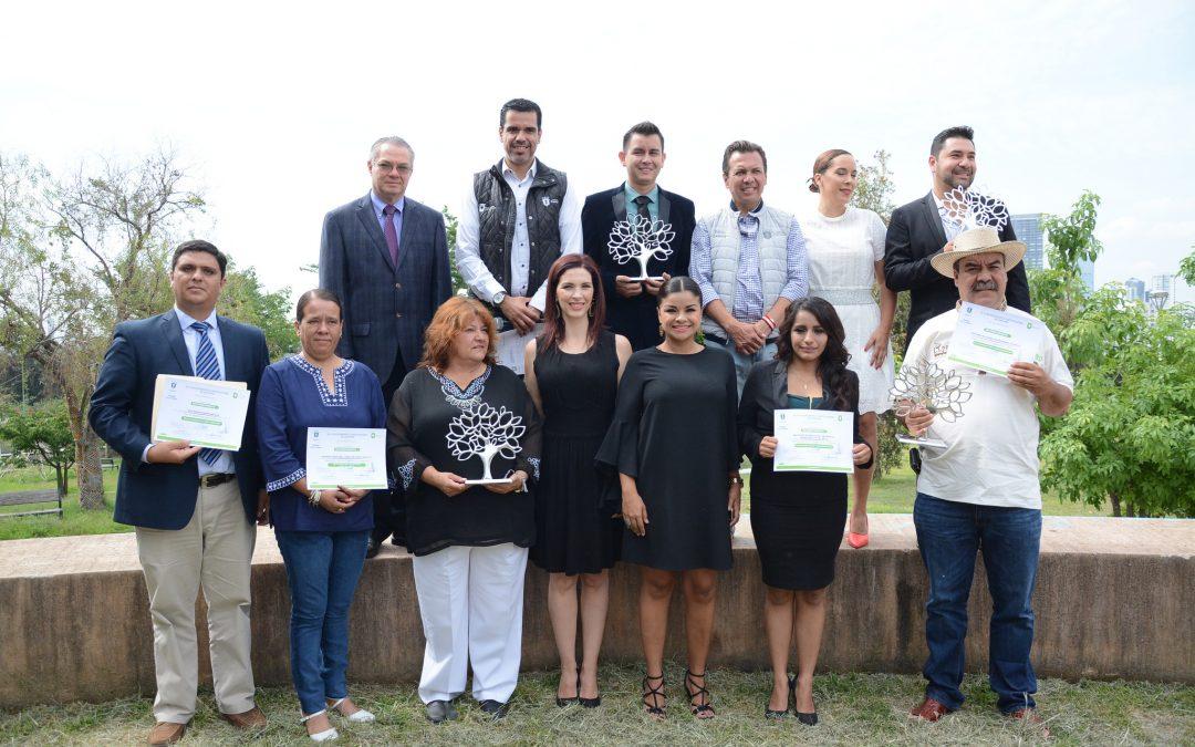 Entrega Zapopan reconocimientos a miembros de la sociedad civil por su compromiso para preservar el Medio Ambiente