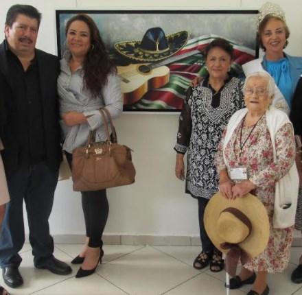 Inaugura CEMAM exposición pictórica en Zapopan con motivo del mes del Adulto Mayor
