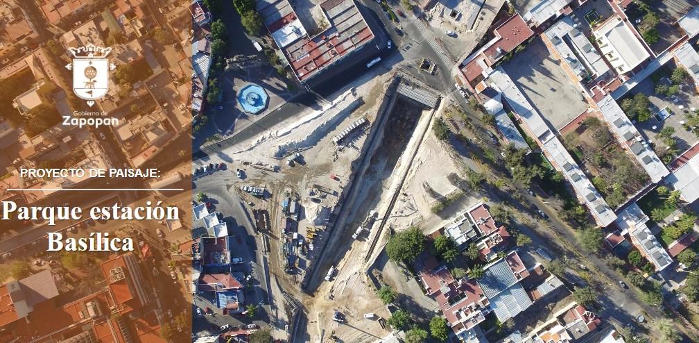 Expone Zapopan solución vial para Parque Estación Basílica