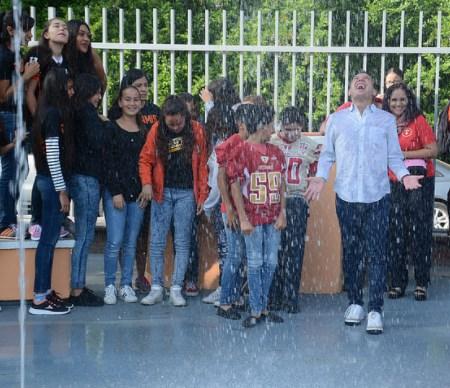 InauguraZapopanrenovación integral de la unidad deportiva Miguel de la Madrid