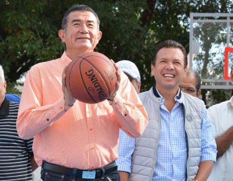 Entrega Zapopan, Ciudad de los Niños, la renovación integral de la unidad deportiva en Miramar