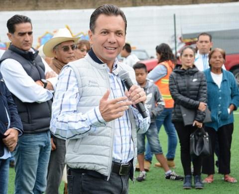 Entrega Zapopan, Ciudad de los Niños, la renovación integral de la unidad deportiva en San Juan de Ocotán